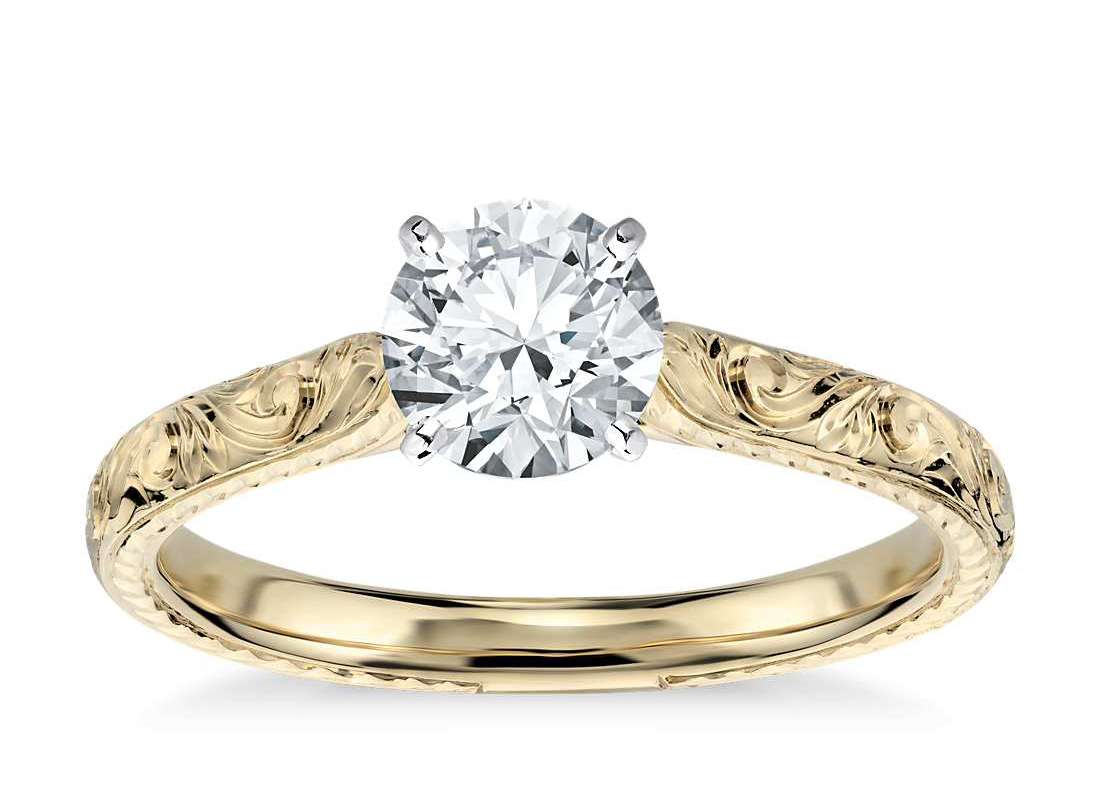 hand-engraved-solitiare-ring