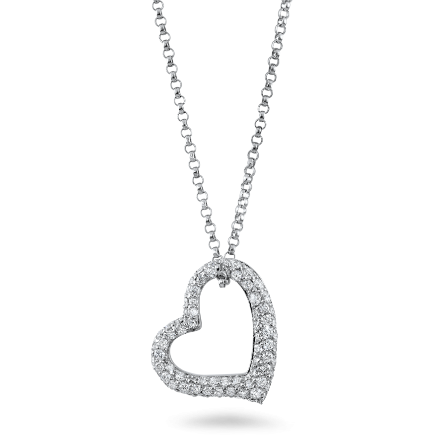 Diamond Heart Necklace Sample