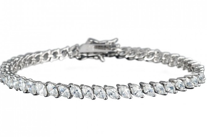Marquise Cut Diamond Bracelet (Sample)